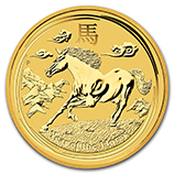 Perth Mint Gold (2014 Horse Coins)